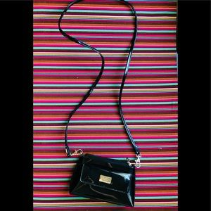 Beijo Small Crossbody Clutch Purse Patent Leather
